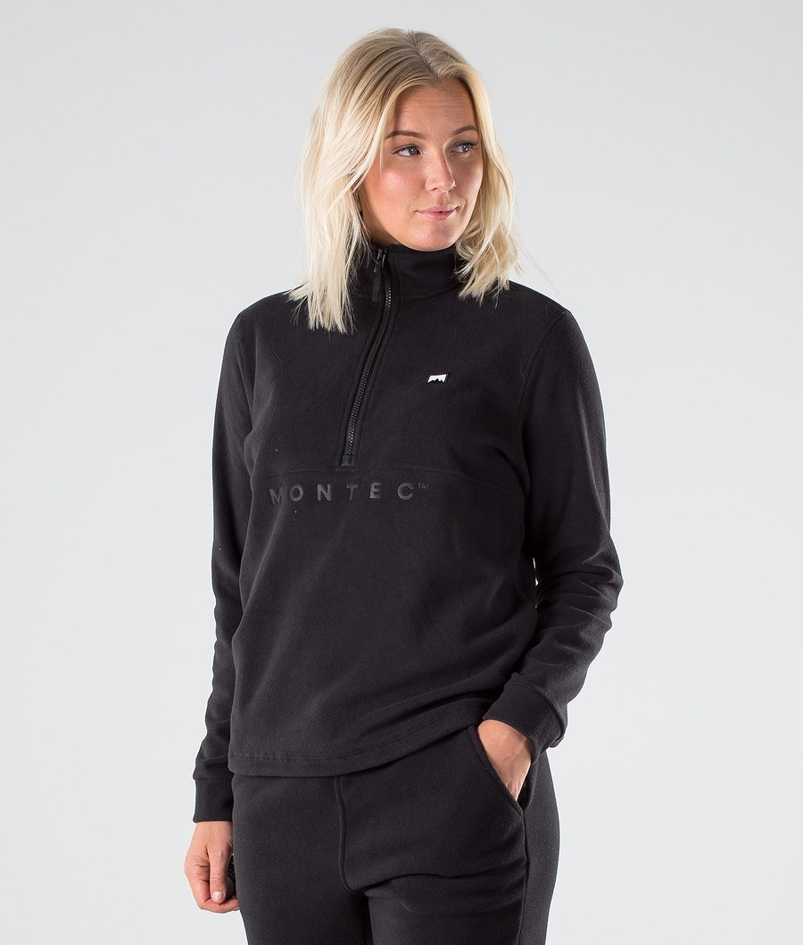 Montec Echo W Fleece Sweater Black