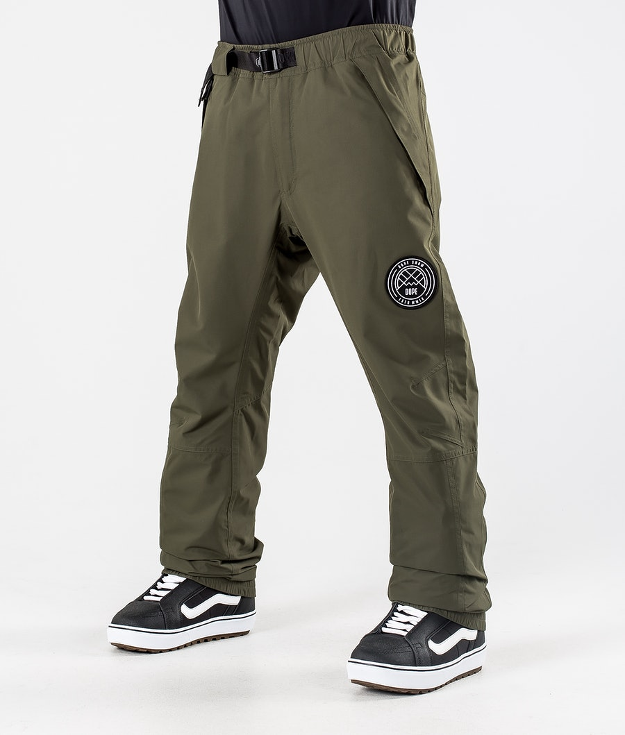 Dope Blizzard 2020 Pantaloni Snowboard Olive Green