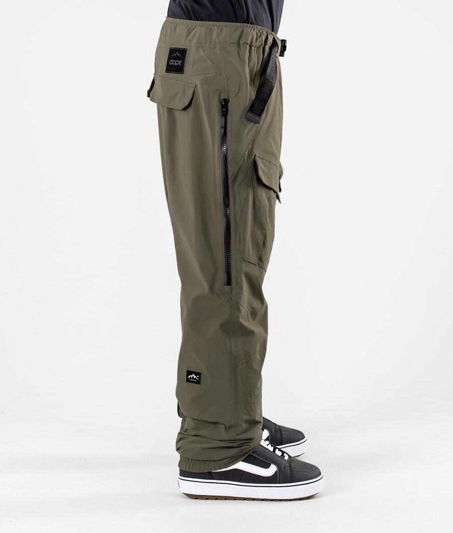 Dope Antek Snowboard Pants Olive Green