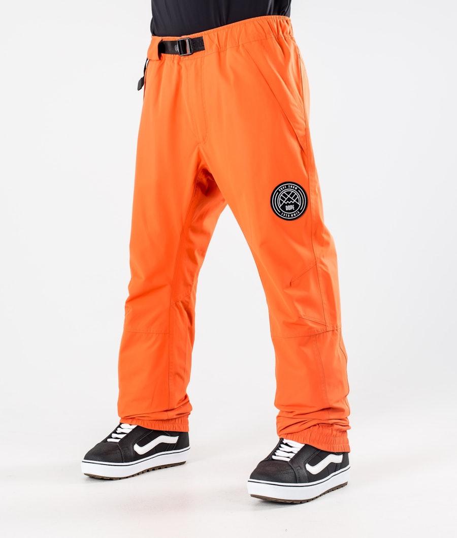 Dope Blizzard 2020 Snowboard Pants Orange