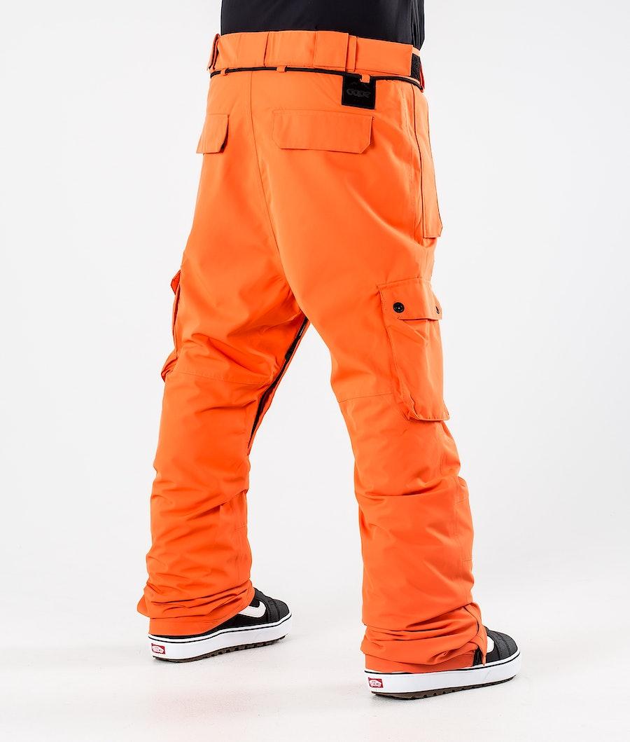 Dope Iconic Snowboard Pants Orange
