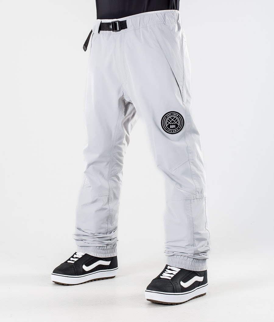 Dope Blizzard 2020 Snowboard Pants Light Grey