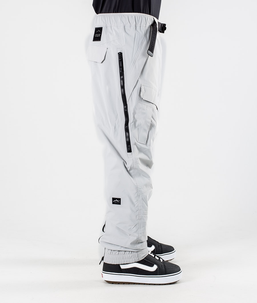 Dope Antek Snowboard Pants Light Grey