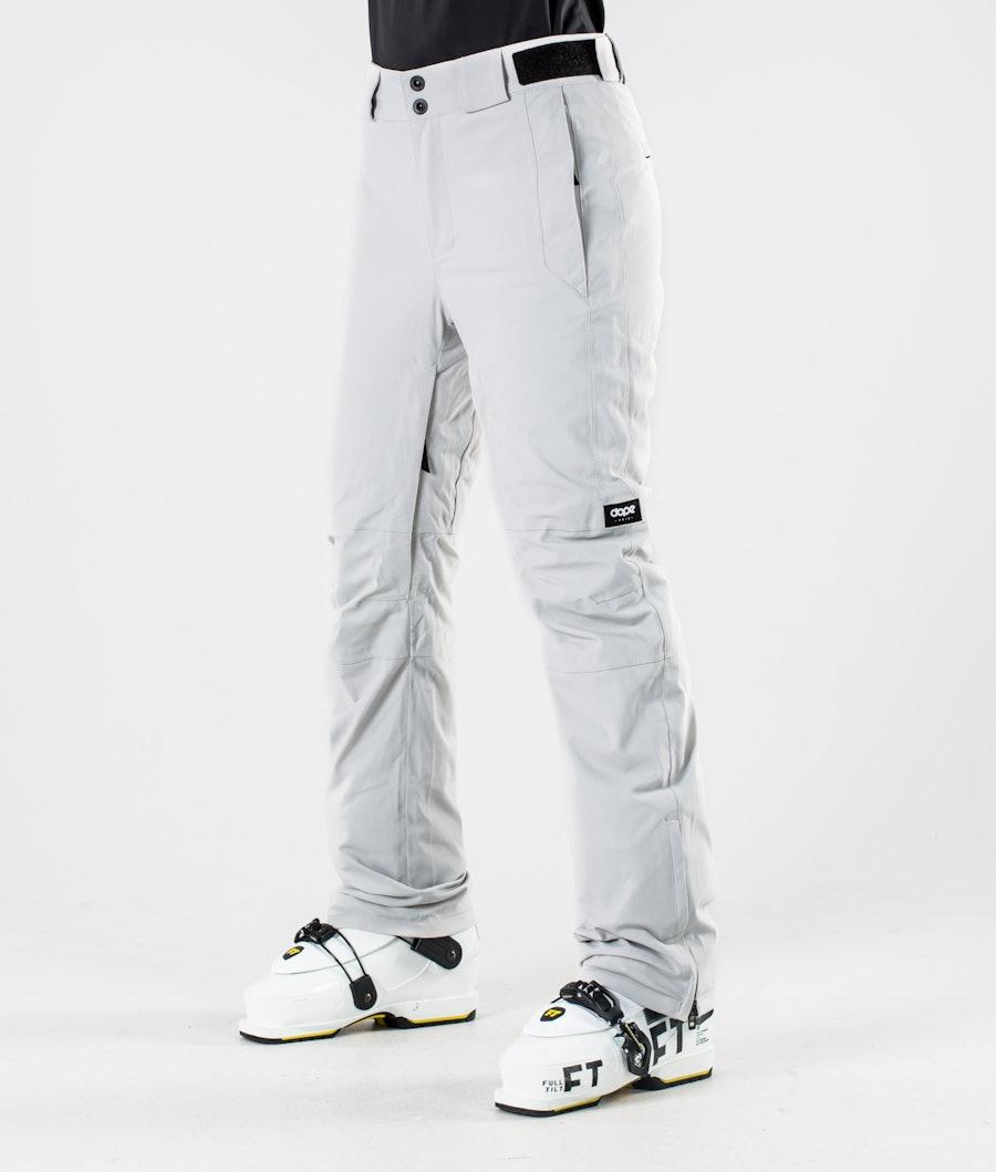 Dope Con 2020 Ski Pants Light grey