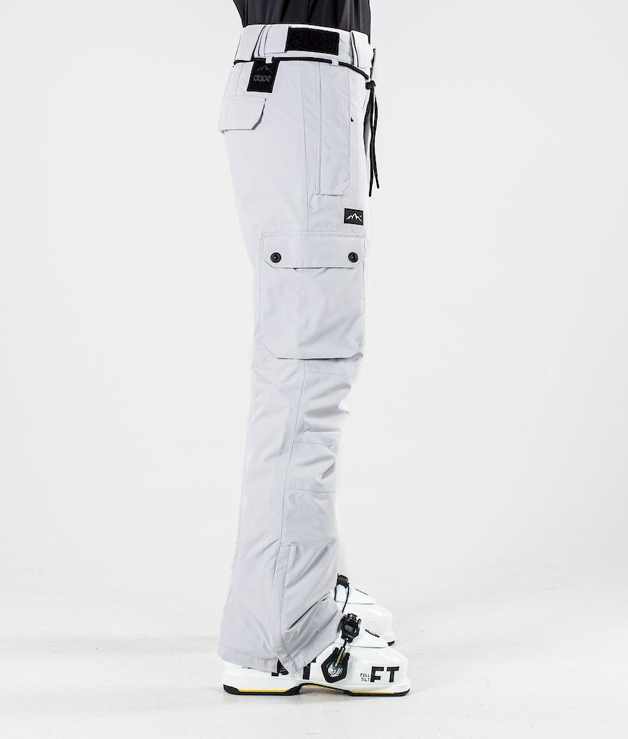 Dope Iconic W Pantaloni Sci Donna Light Grey