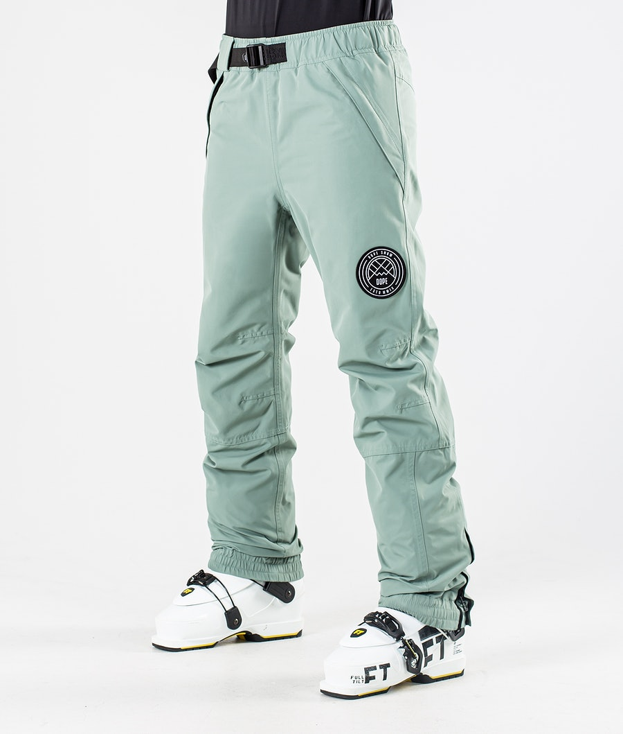Dope Blizzard W 2020 Ski Pants Faded  Green