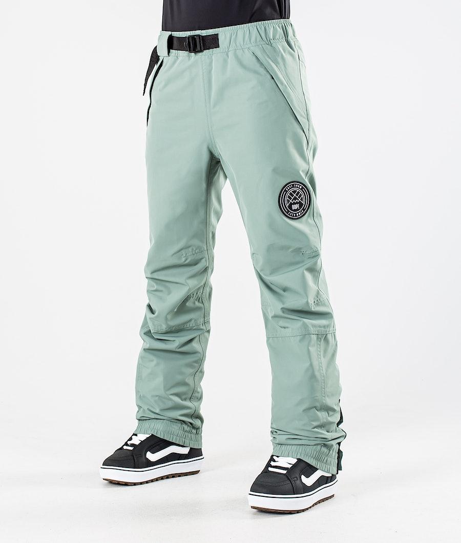 Dope Blizzard W Women's Snowboard Pants Faded Green