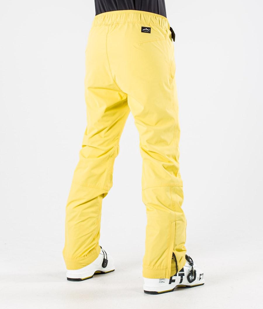 Dope Blizzard W Skibroek Dames Faded Yellow