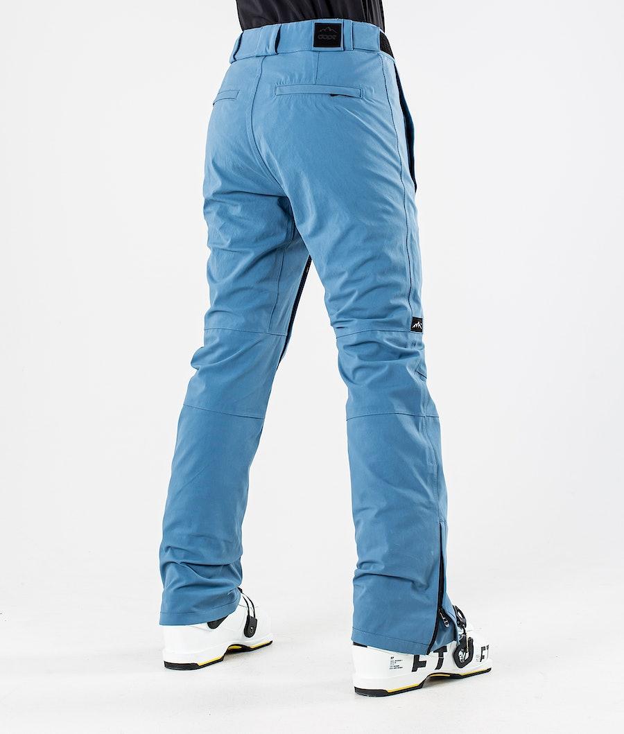 Dope Con Women's Ski Pants Blue steel