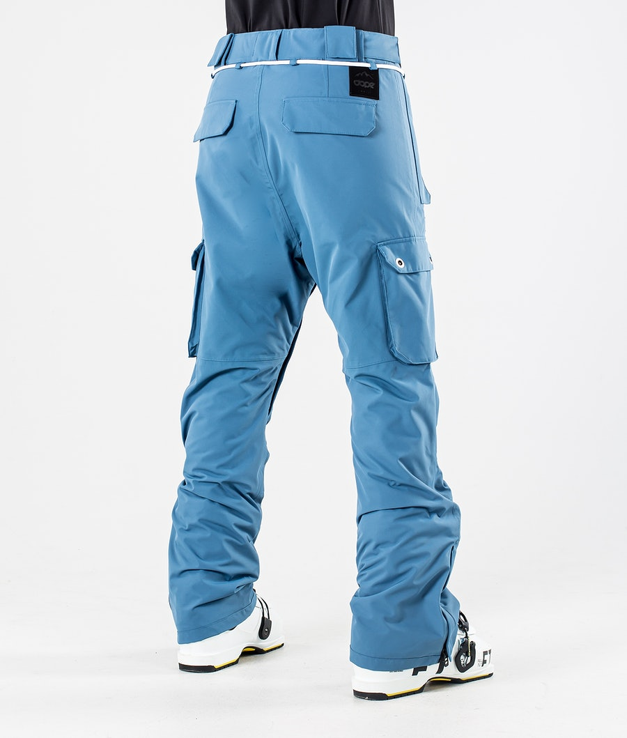 Dope Iconic W Pantaloni Sci Donna Blue Steel