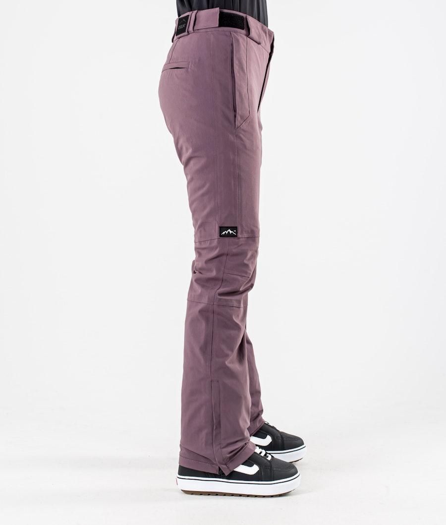 Dope Con Women's Snowboard Pants Faded Grape