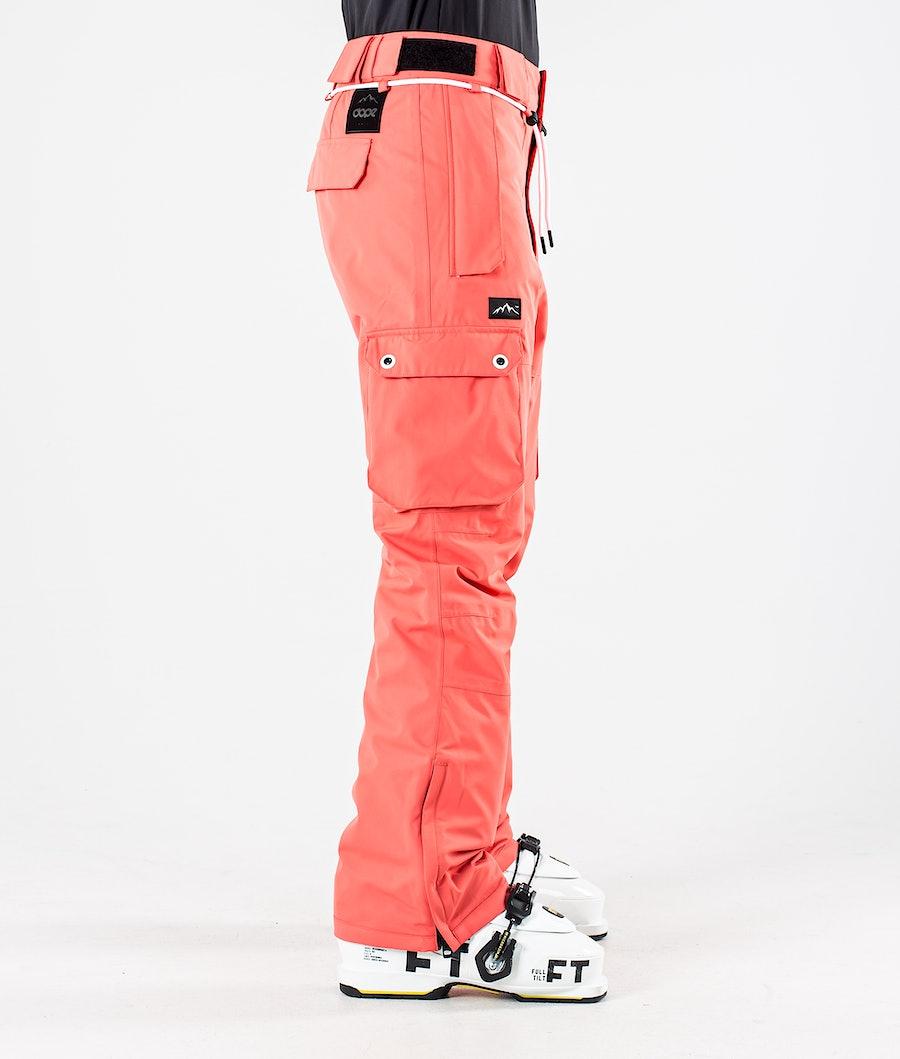 Dope Iconic W Pantaloni Sci Donna Coral