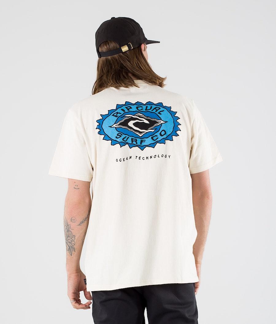 Rip Curl Fadeout Sun T-shirt Bone