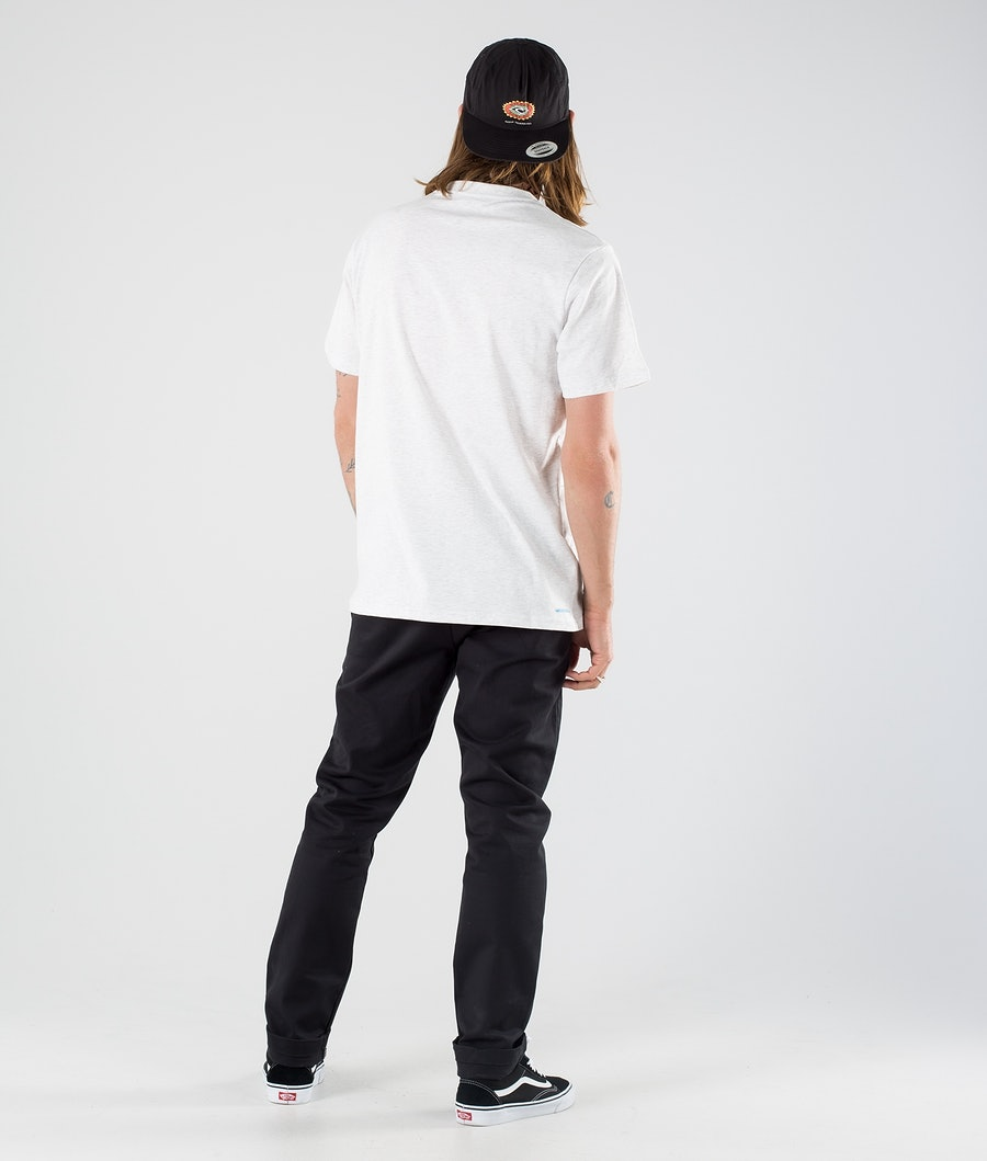 Rip Curl Section Vaporcool T-shirt Snow Marle