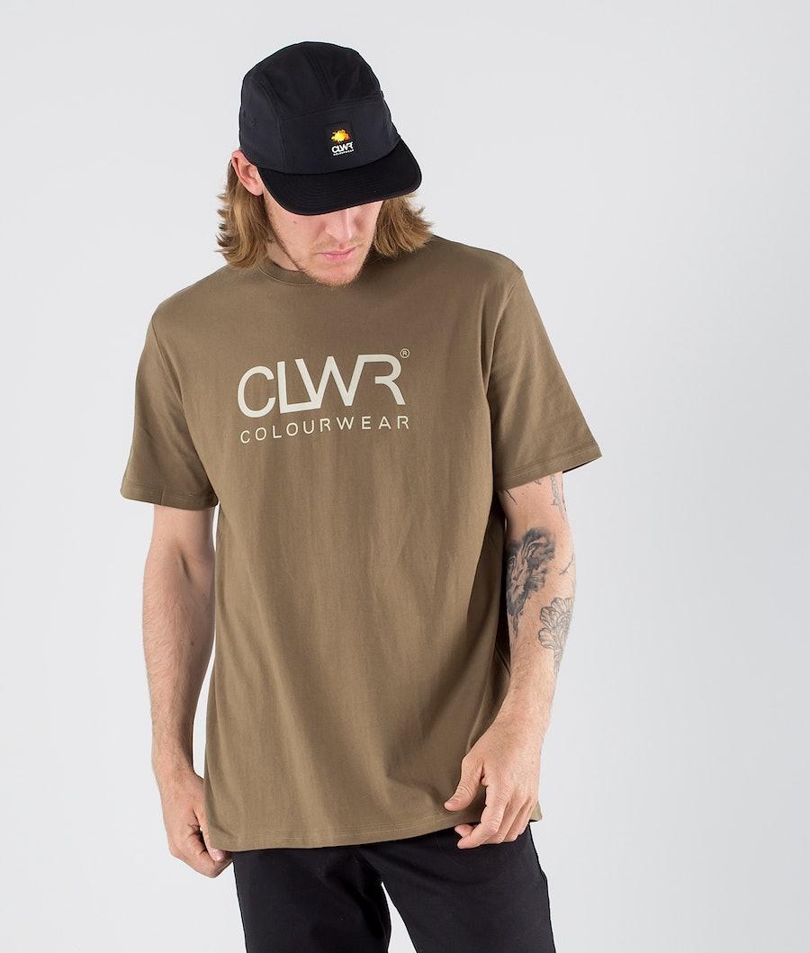 ColourWear Core T-shirt Dark Khaki