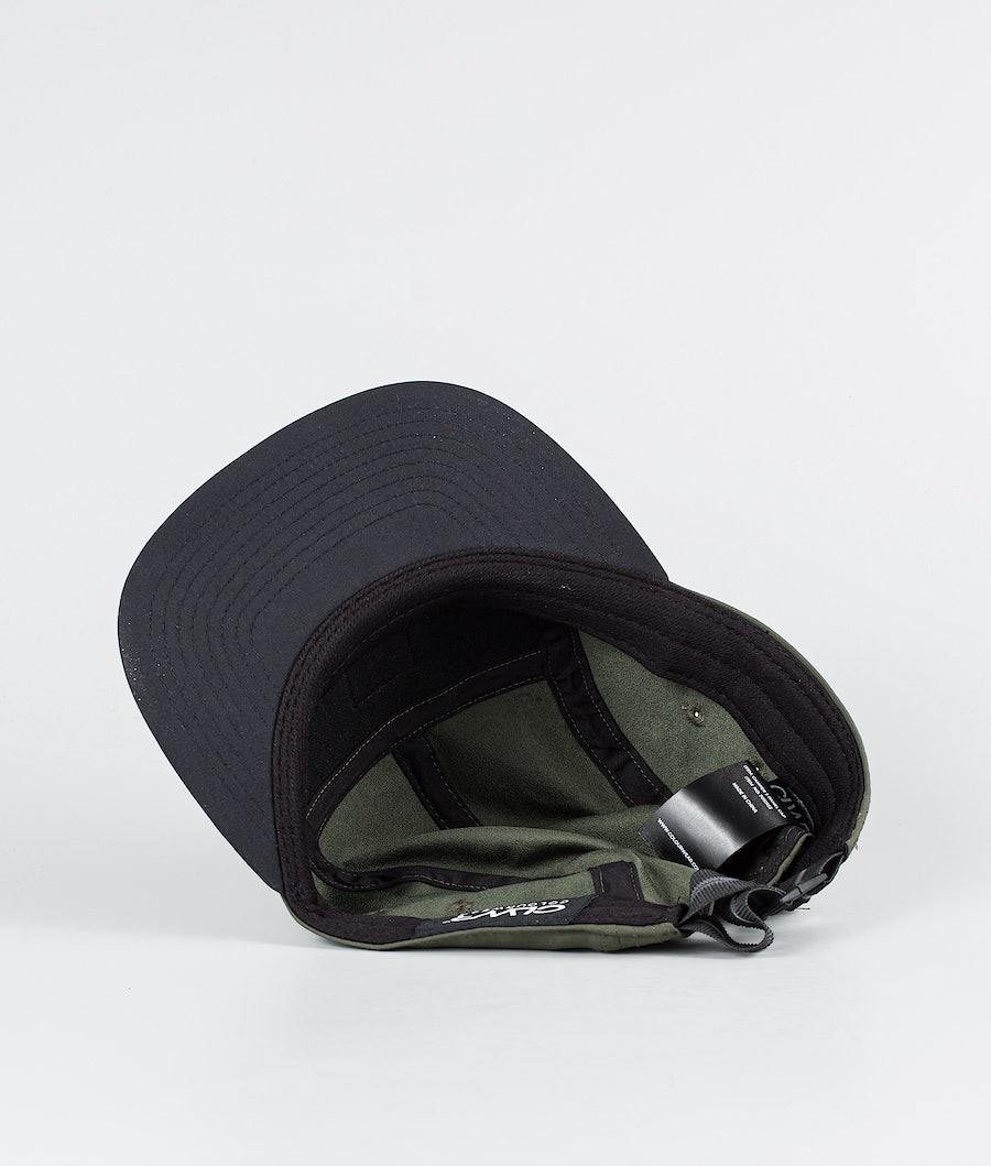 ColourWear Camper 5 panel Keps Dark Khaki