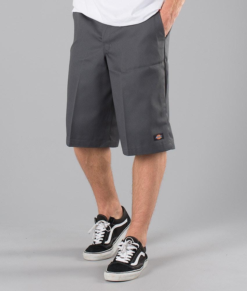 Dickies 13 Inch Multi Pocket Work Shorts Charcoal Grey