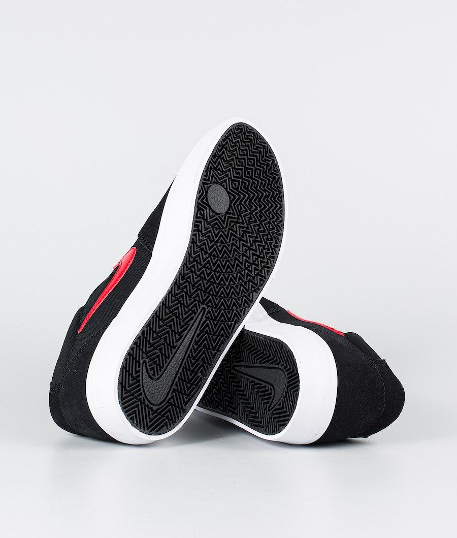 Nike SB Chron Solarsoft Skor Black/University Red