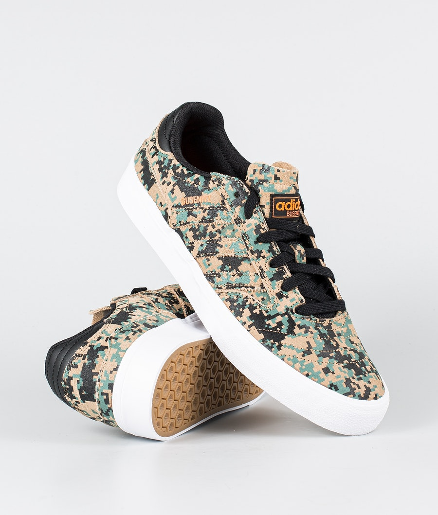 Adidas Skateboarding Busenitz Vulc II Sko Core Black/Cardbo/Footwear White