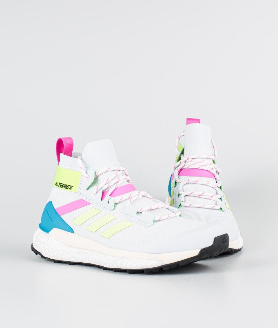 Adidas Terrex Free Hiker Primeblue Women's Shoes Halo Blue/Hi-Res Yellow/Scream Pink