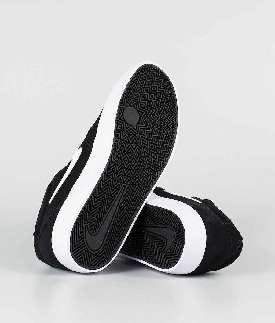 Nike SB Charge suede Shoes Black/White-Black