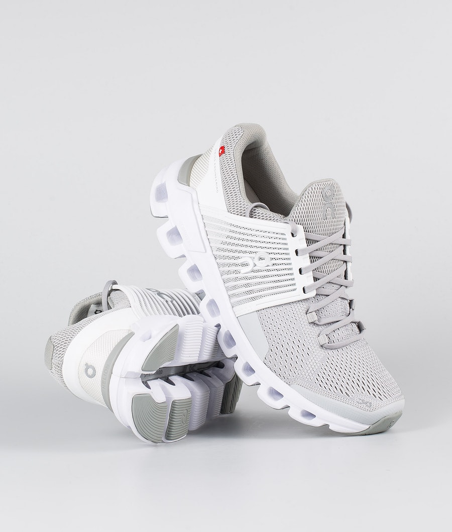 On Shoes Cloudswift Shoes Glacier / White