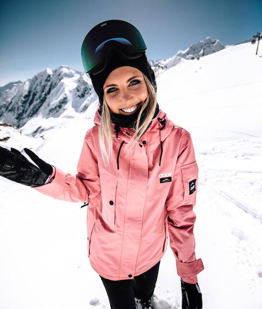 Dope Adept W Women's Snowboard Jacket Pink