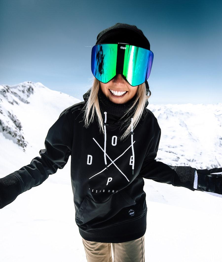 Dope Yeti W Women's Snowboard Jacket Black