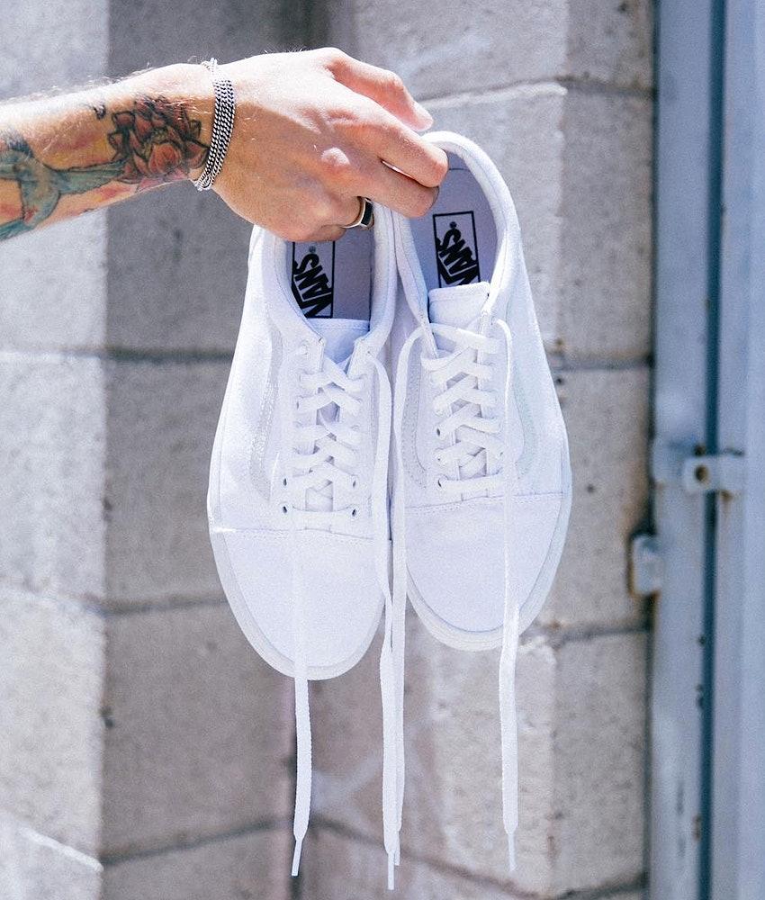 Vans Old Skool Skor True White