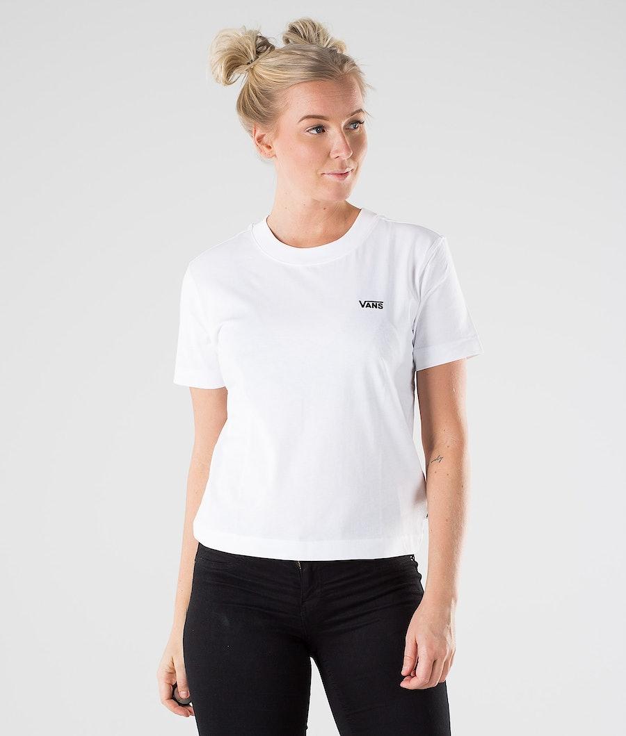 Vans Junior V Boxy T-Shirt White