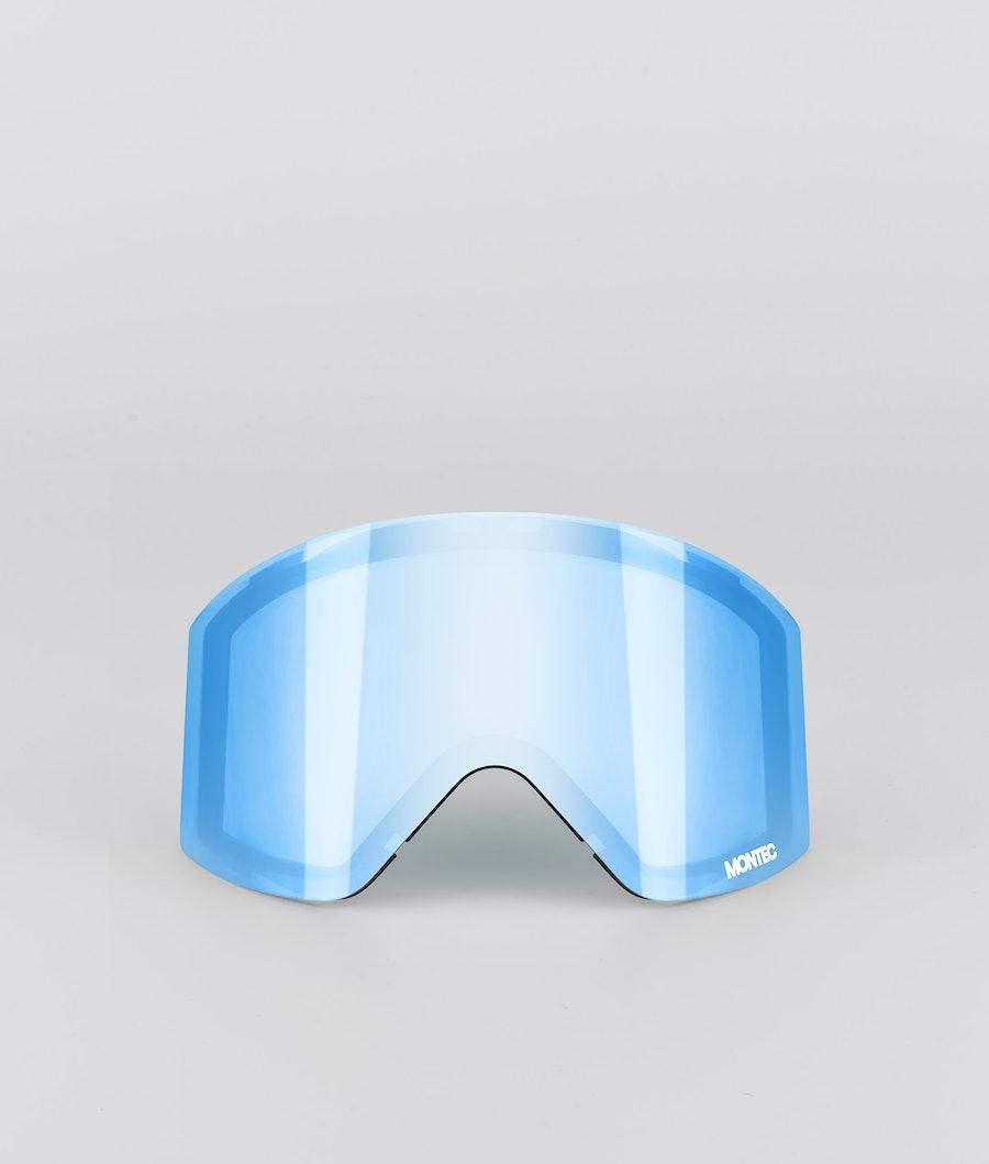 Montec Scope Medium spare lens Replacement Lens Ski Moon Blue