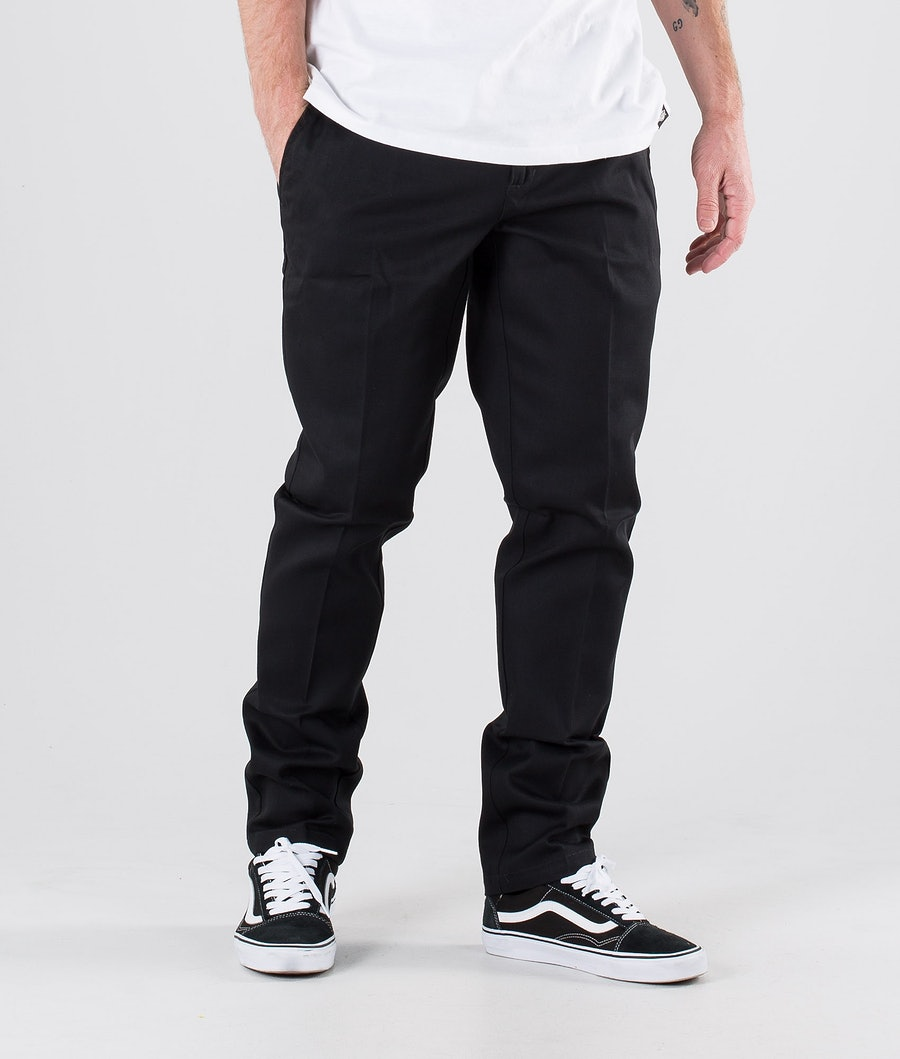 Dickies 872 Slim Fit Work Pants Black