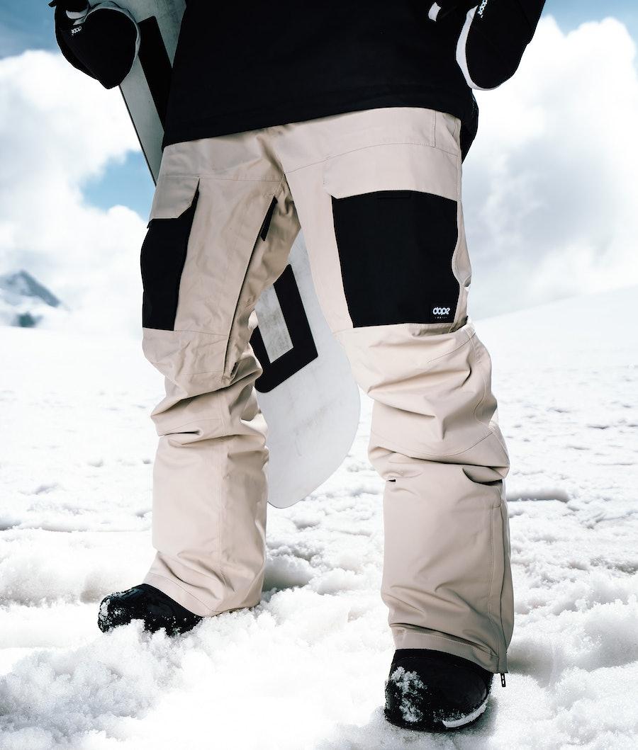 Dope Poise Snowboardbyxa Sand/Black