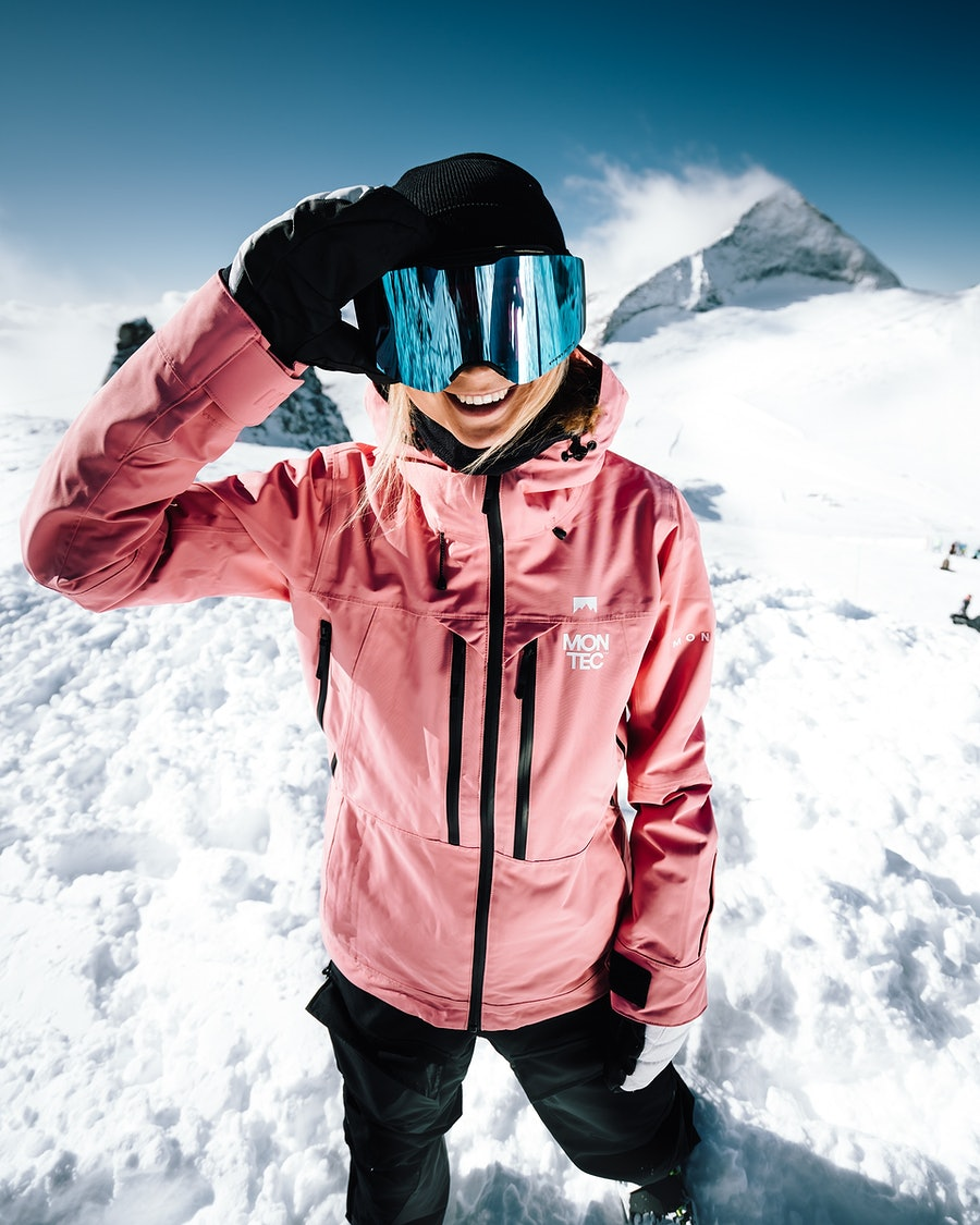 Montec Moss Women's Snowboard Jacket Pink