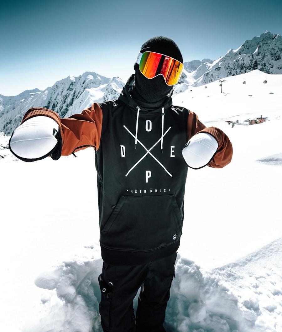 Dope Yeti Snowboard Jacket Black/Adobe
