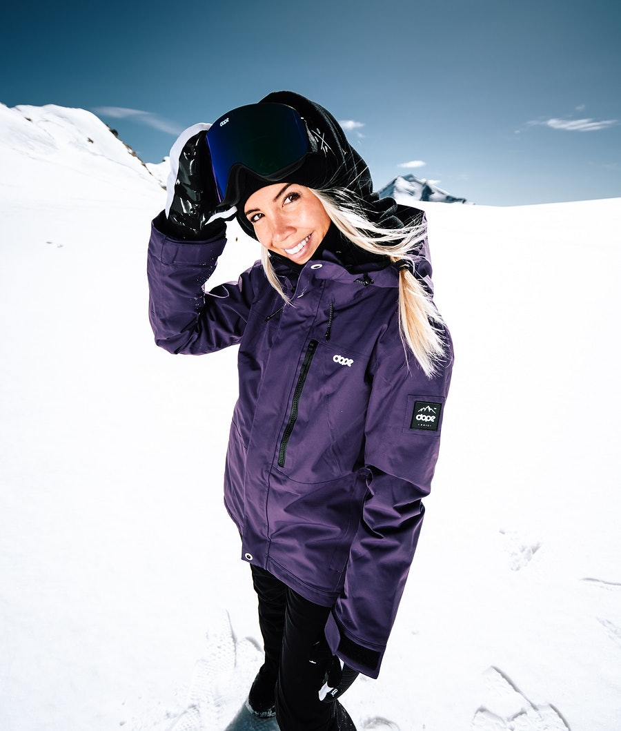 Dope Divine Snowboardjacka Dam Grape