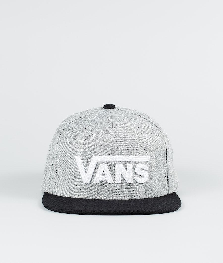 Vans Drop V II Snapback Pet Heather Grey/Black