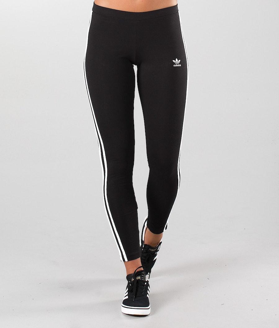 Adidas Originals 3-Stripes Leggings Damen Black