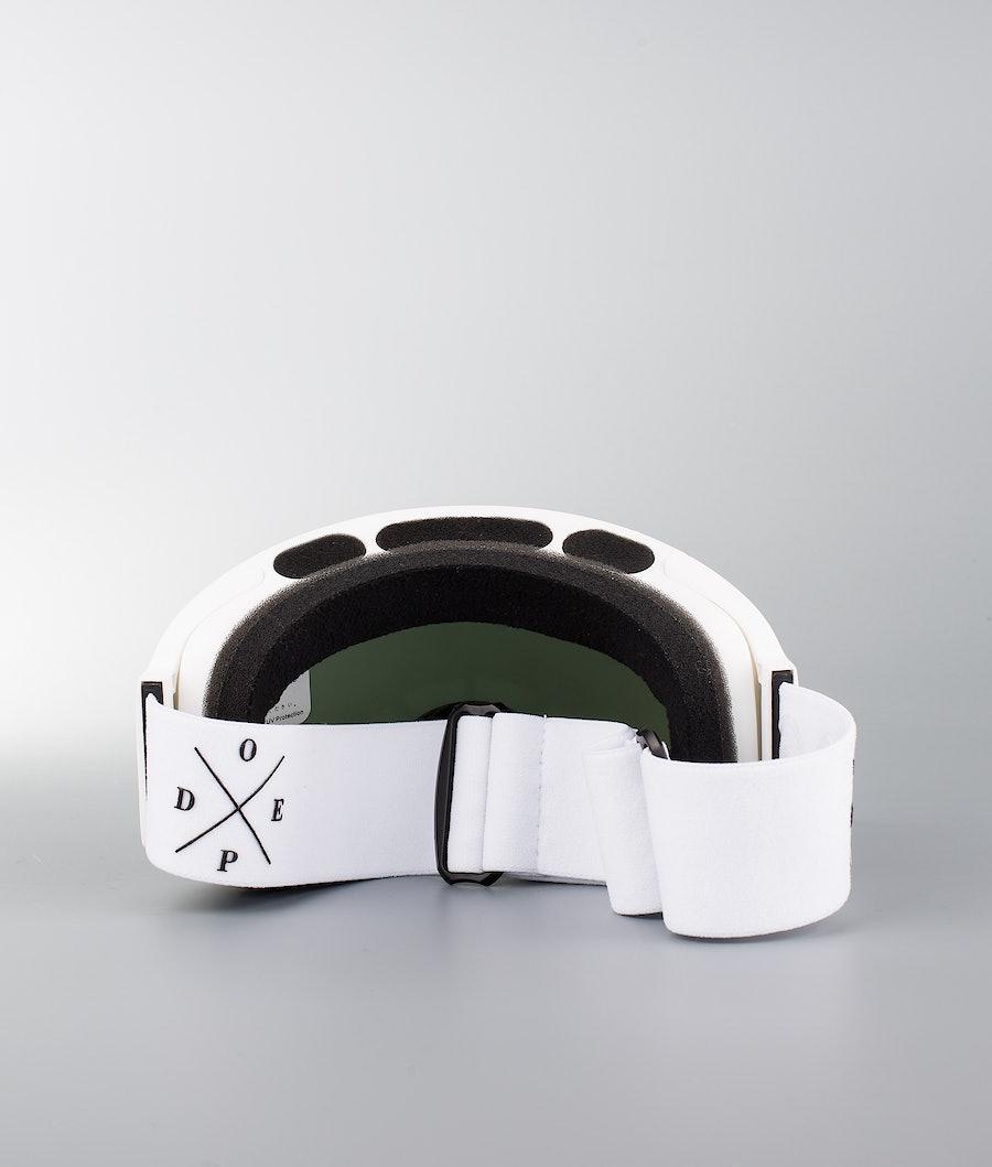 Dope Sphere 2X-UP Skidglasögon White W/White Black