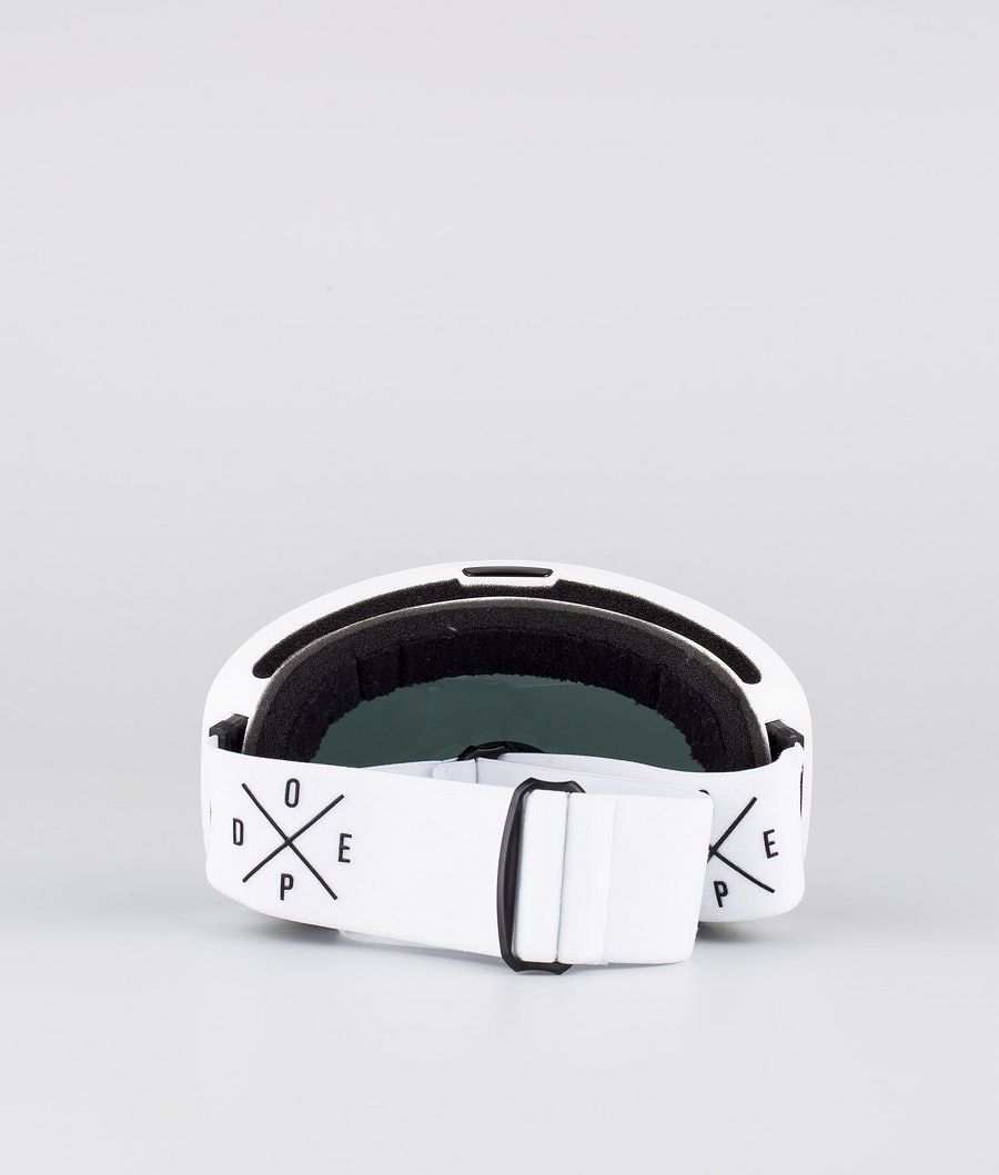 Dope Flush 2X-UP Skibriller White W/White Black