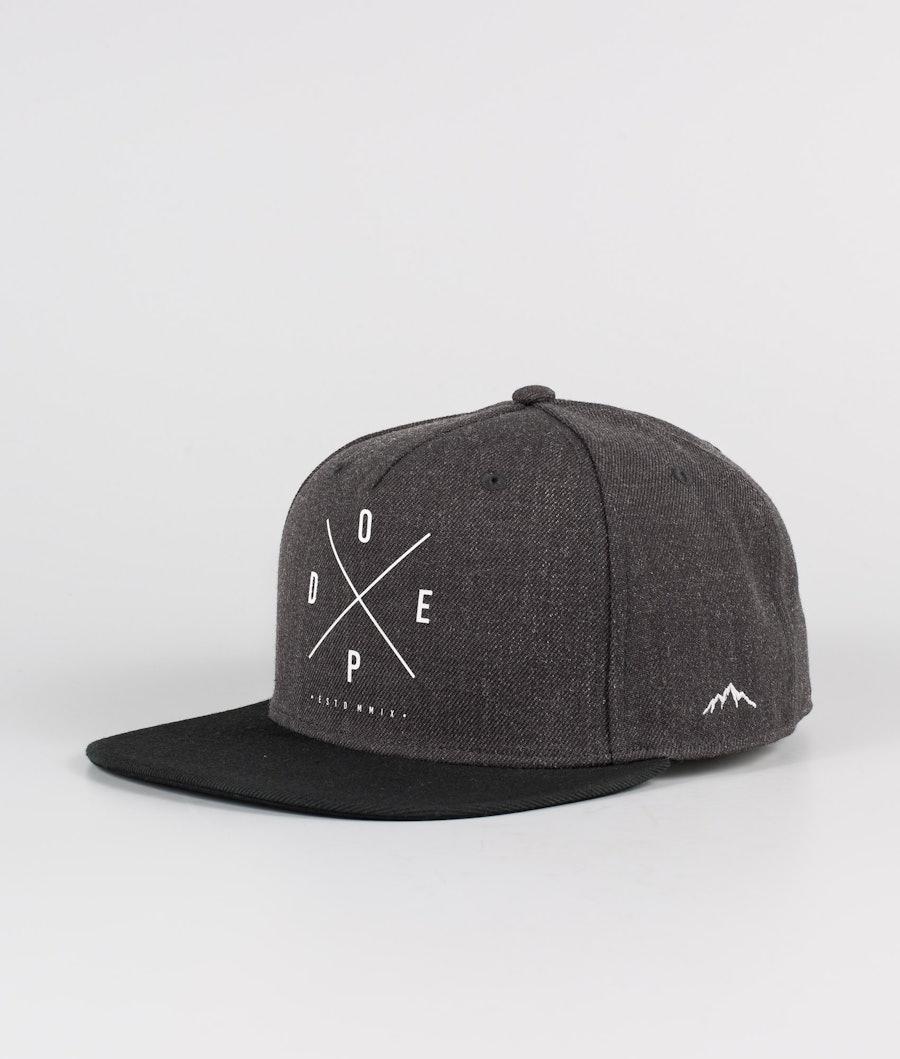 Dope 2X-UP Cap Dark Grey Black