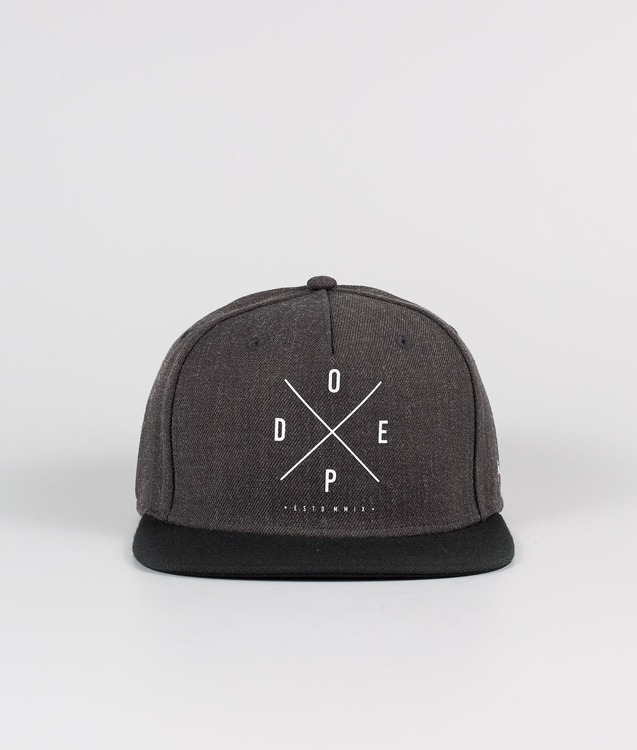 Dope 2X-UP Cappello Dark Grey Black