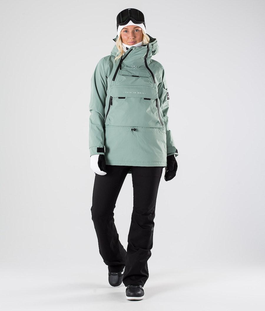 Dope Akin W Snowboardjacke Damen Faded Green
