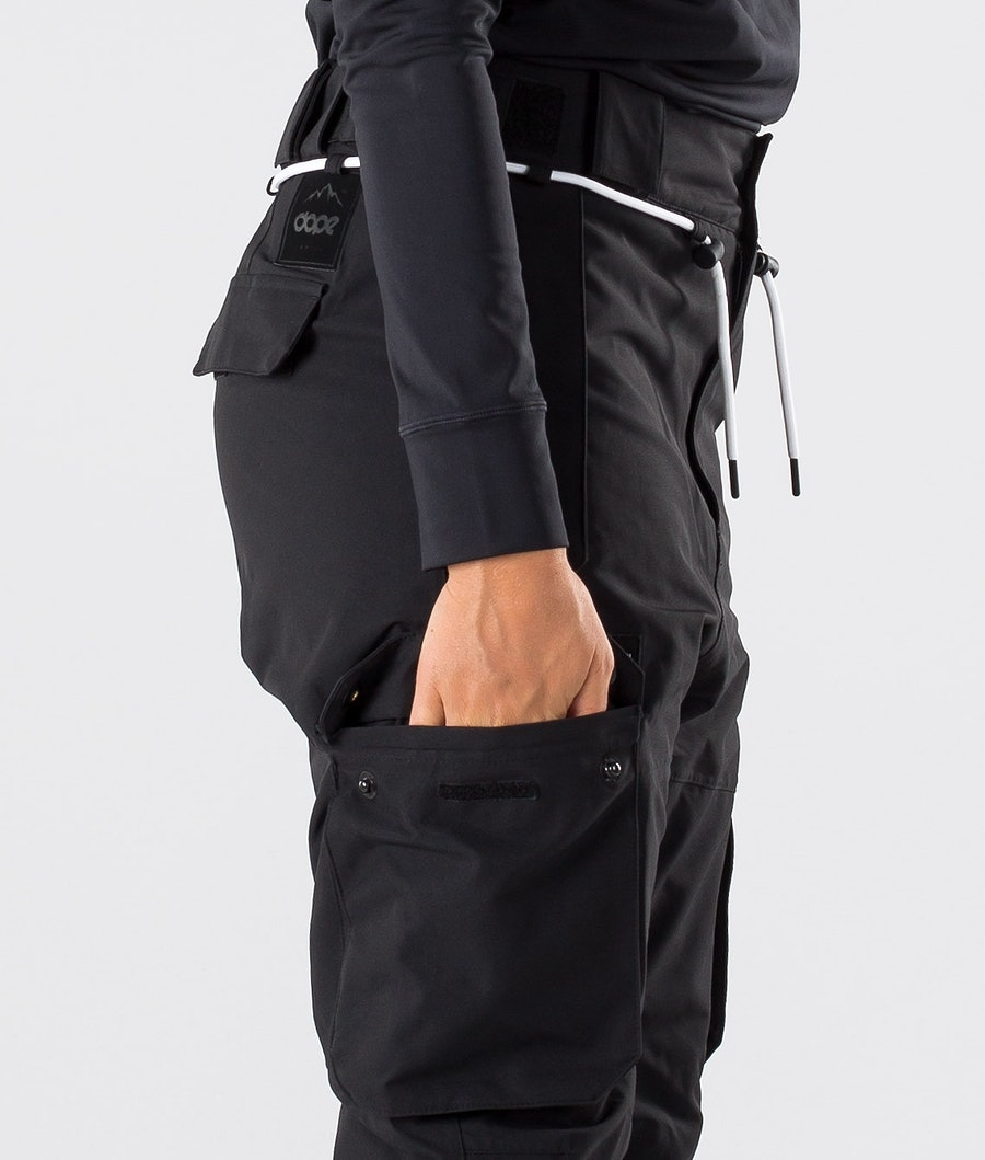 Dope Iconic W Pantaloni Sci Donna Black