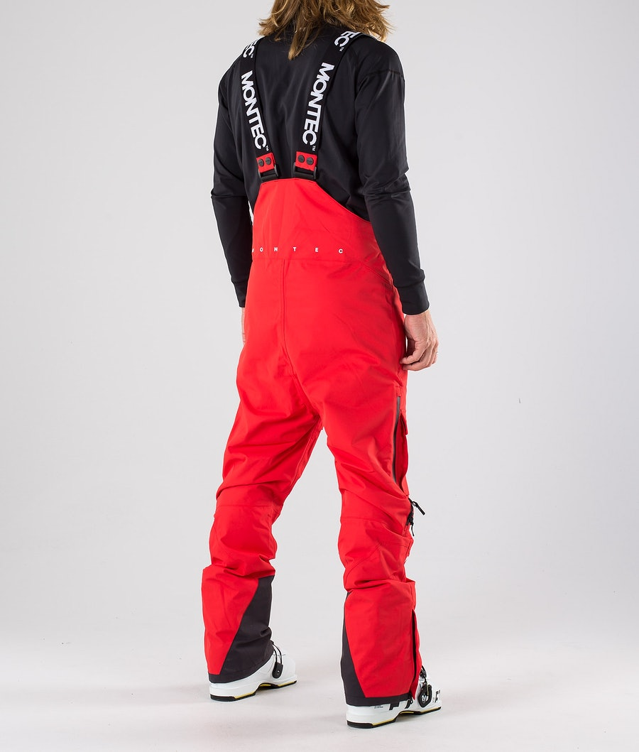 Montec Fawk Ski Pants Red