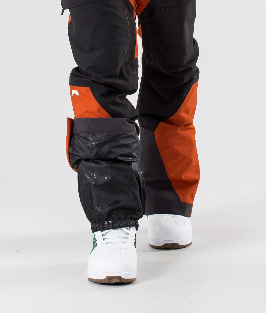Montec Dune Pantaloni Snowboard Clay/Black