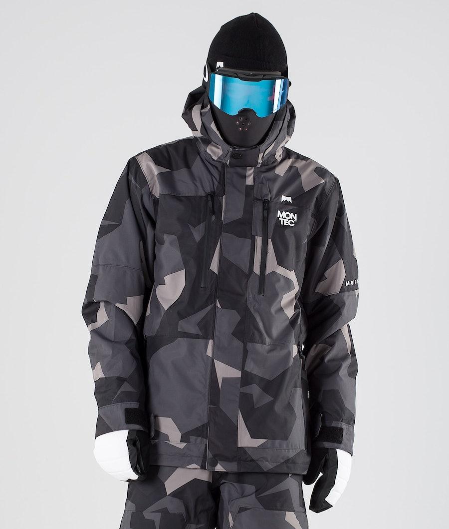 Montec Fawk Ski Jacket Night Camo