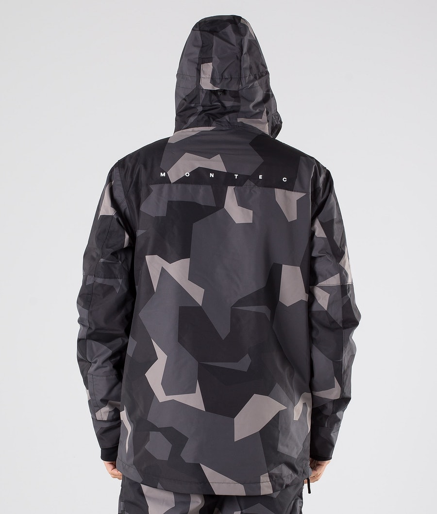 Montec Dune Ski Jacket Night Camo