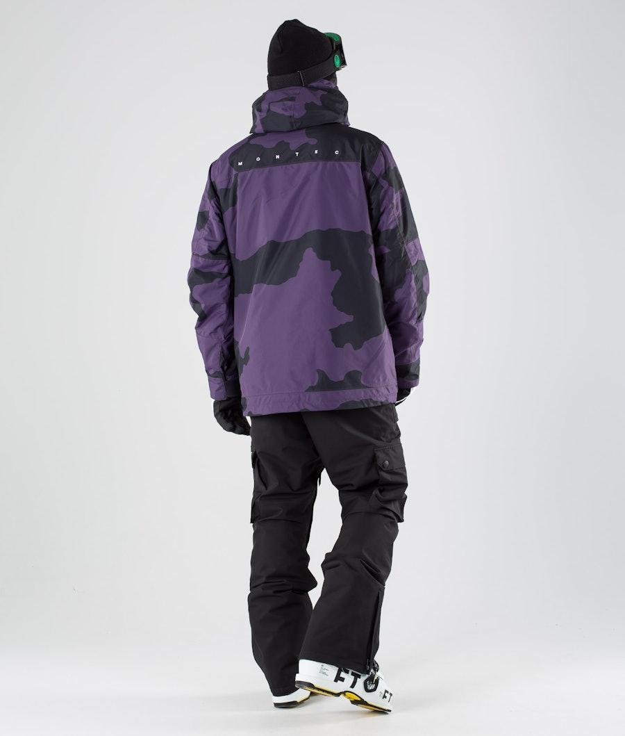 Montec Doom Ski Jacket Grape Camo