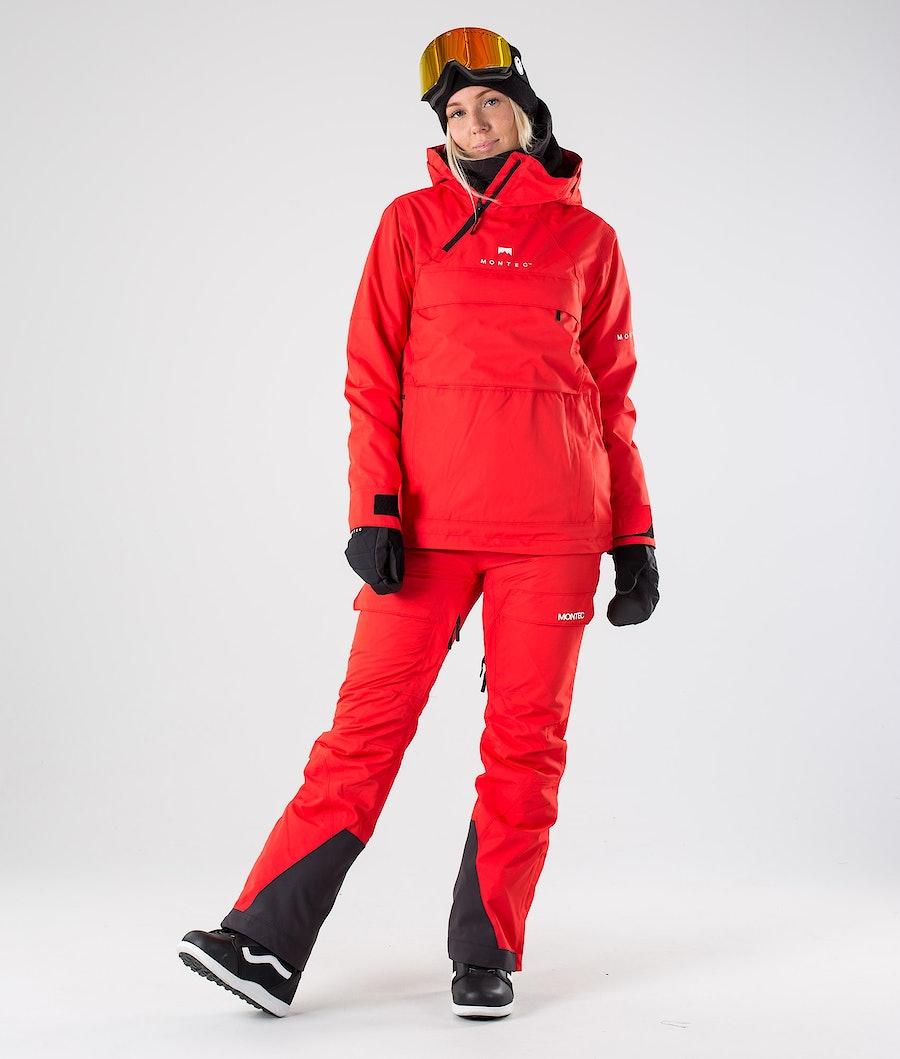 Montec Dune W Women's Snowboard Jacket Red